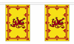 SCOTLAND LION BUNTING - 18 METRES 30 FLAGS